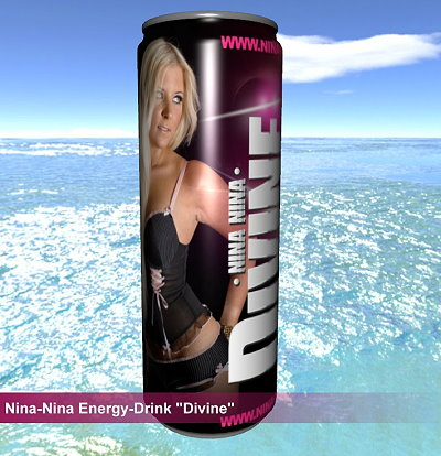 """Energydrink von Nina-Nina """"Divine"""""""